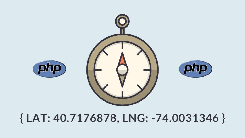 Pegar Coordenadas Geográficas à partir de um endereço com PHP