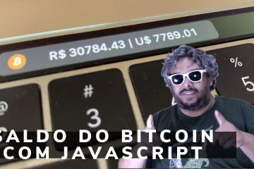 Saldo do Bitcoin com Javascript