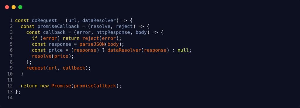 Saldo do Bitcoin com Javascript - doRequest