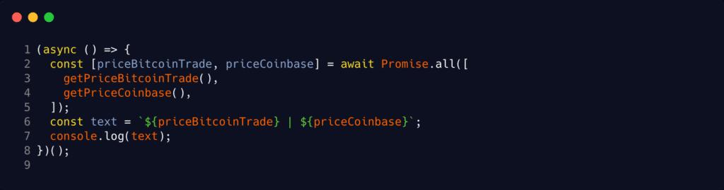Saldo do Bitcoin com Javascript - start