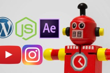 Criei videos para instagram baseado no posts do wordpress usando robôs escritos em nodejs