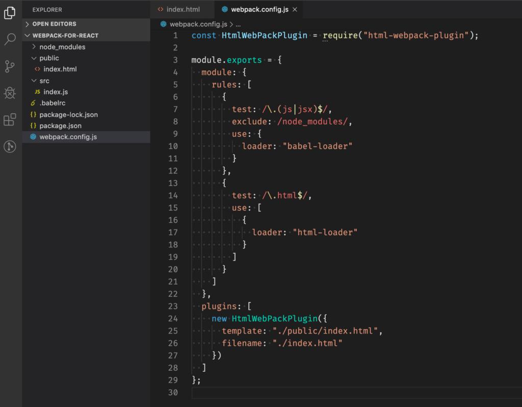 html webpack plugin