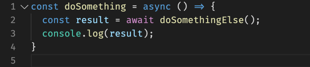 Exemplo Async/Await